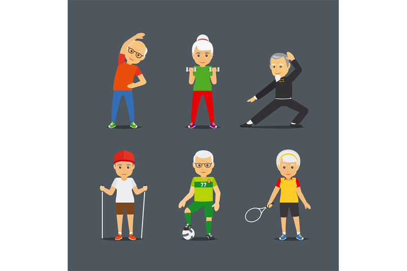 old-people-sport-lifestyle-icons