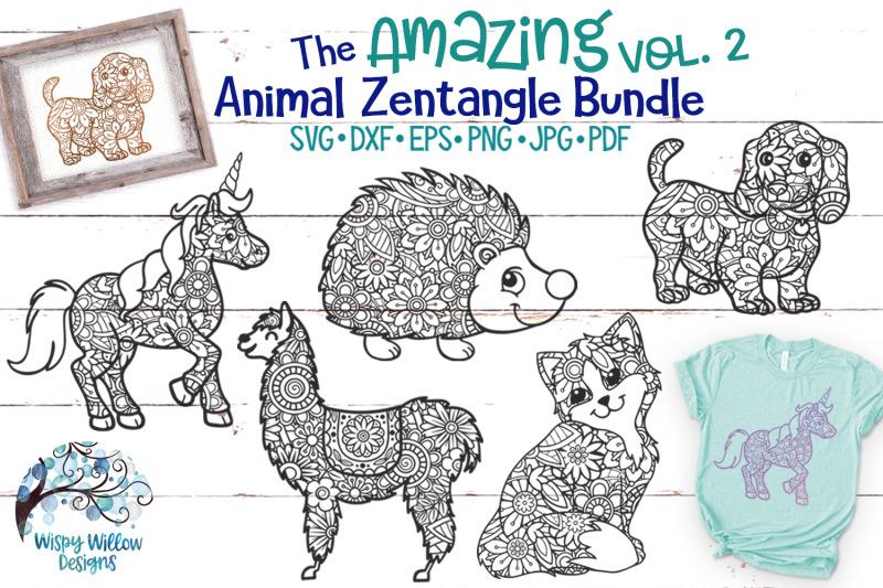 the-amazing-animal-zentangle-volume-2-svg-bundle