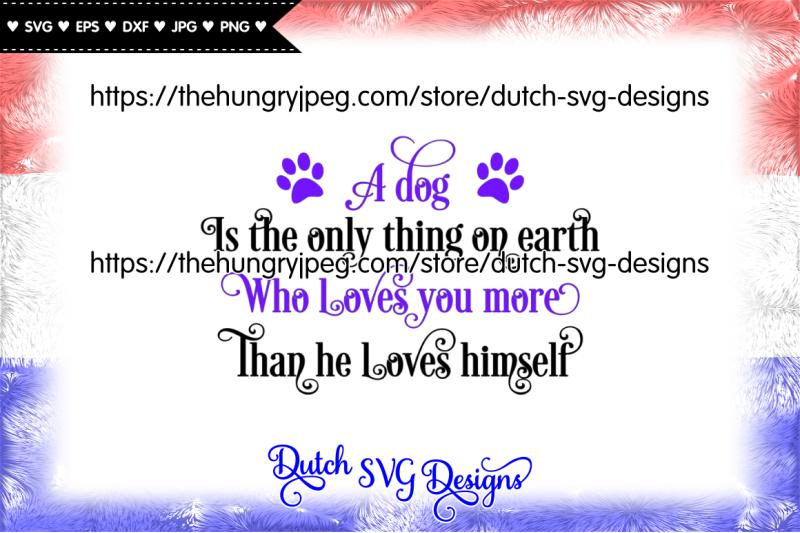 Dog Text Cut File Dog Svg Dog Cutting File Dog Cut File Dog