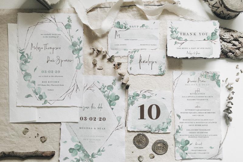 watercolor-eucalyptus-wedding-suite