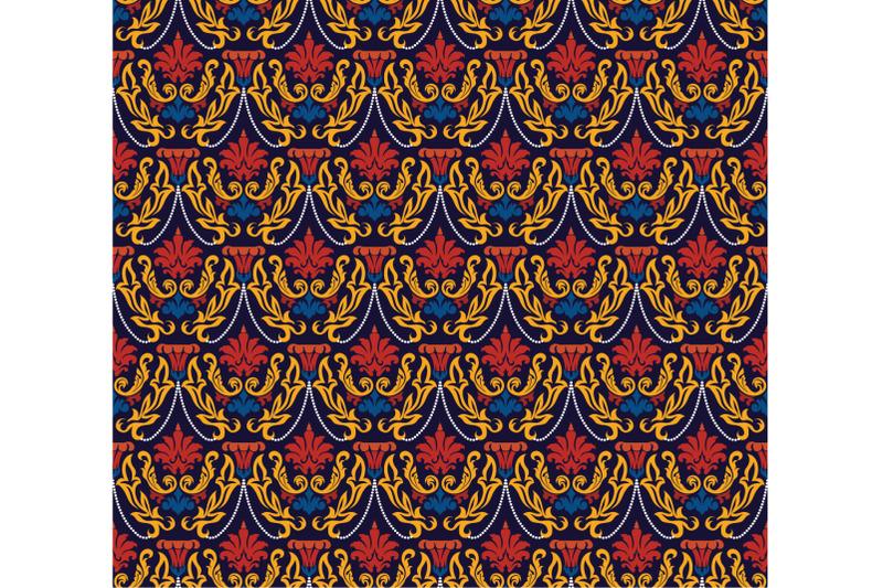 colorful-seamless-damask