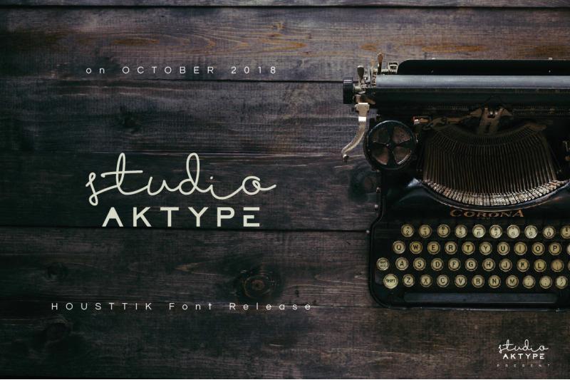 housttik-handwritten-font
