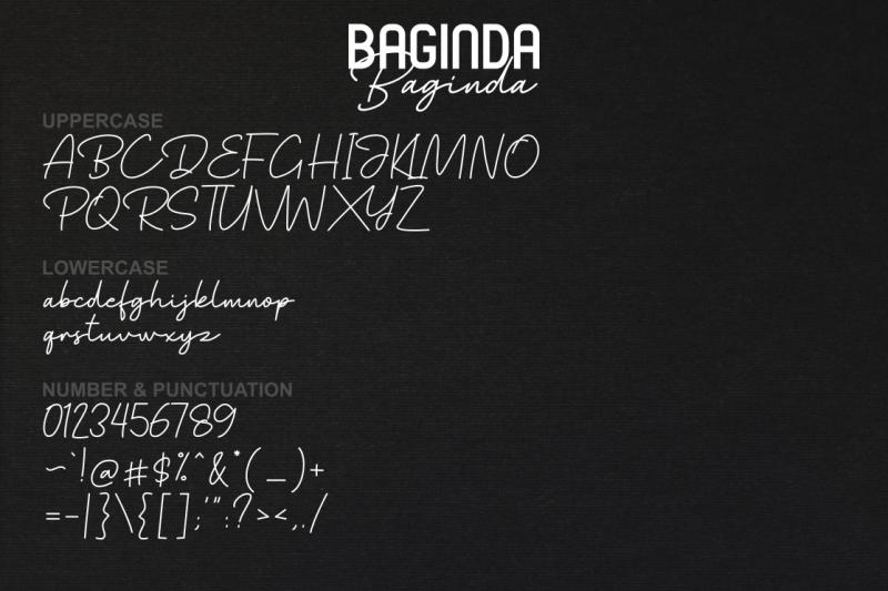 baginda-font-duo