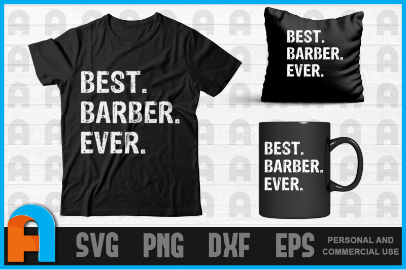 best-barber-ever-funny-t-shirt-barbershop-hairstyle-t-shirt-design