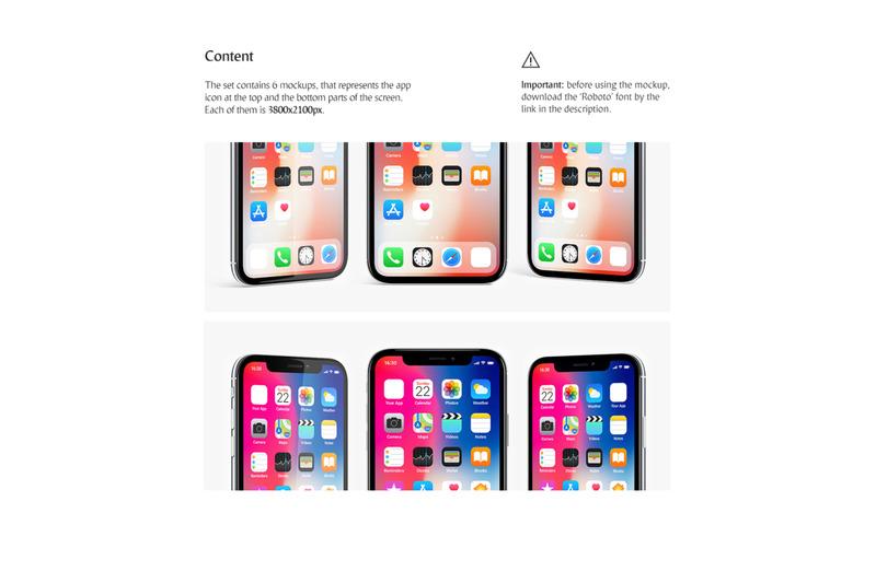 Phone App Mockups Set By Rebrandy Thehungryjpeg Com