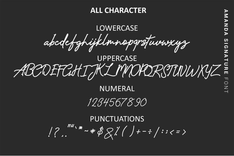 amanda-signature-monoline-font