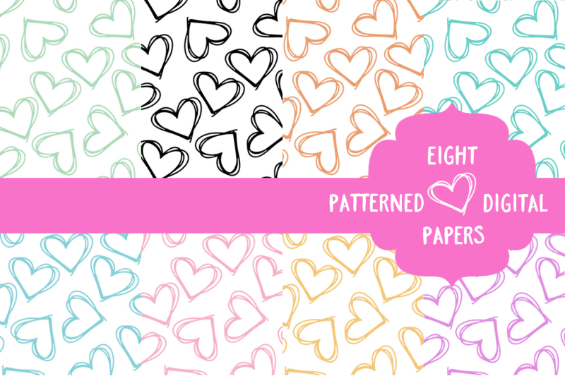 eight-seamless-patterned-digital-papers