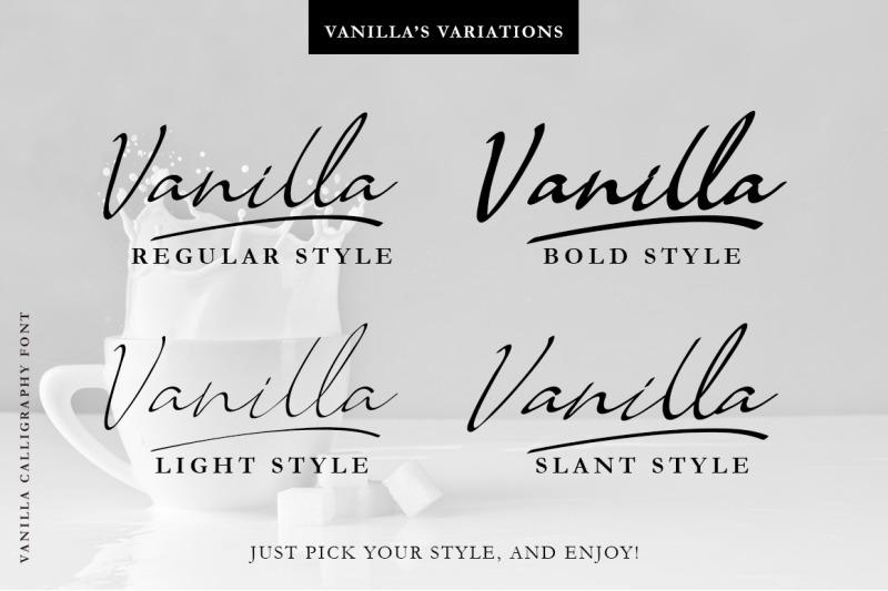 vanilla-modern-calligraphy