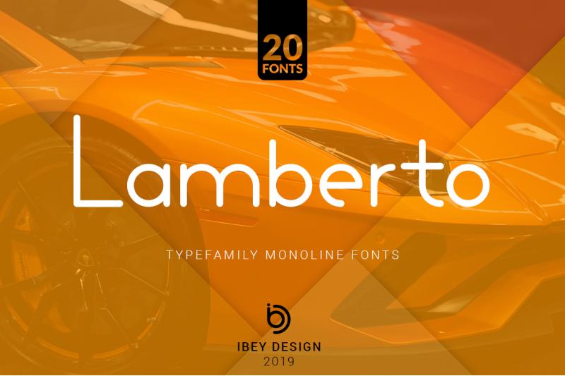 lamberto-20-monoline-fonts