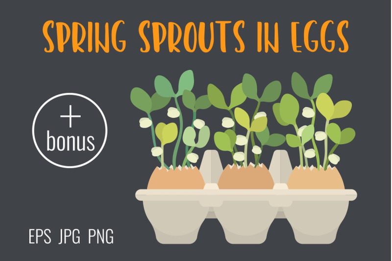 spring-spouts-in-eggs