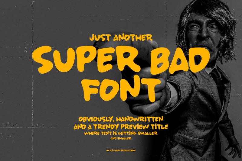 super-bad-font