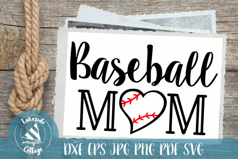 baseball-mom-sports-svg-design