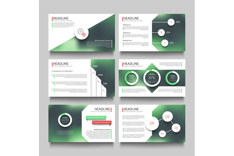company-presentation-booklet-pages-with-abstract-outdoor-blurred-photo