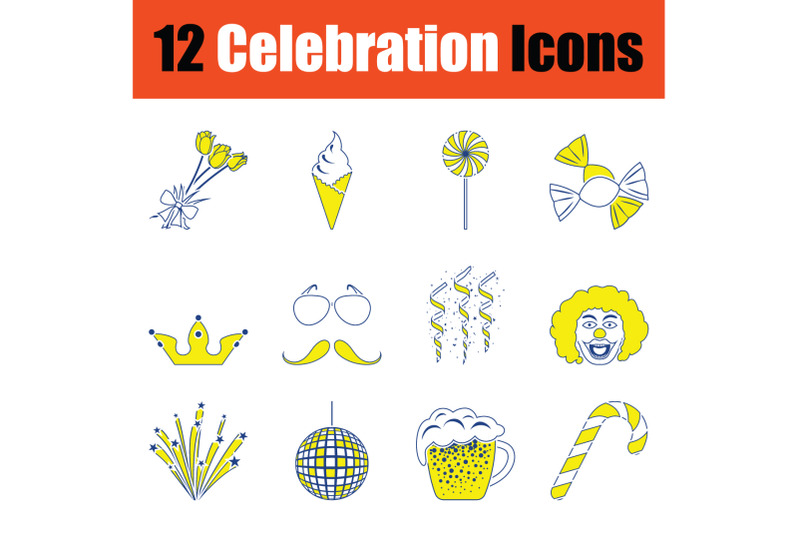 party-icon-set