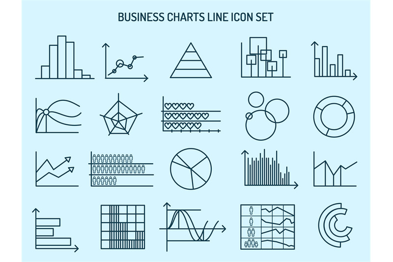 business-charts-line-icons