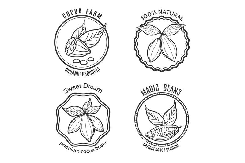 cacao-logo-set