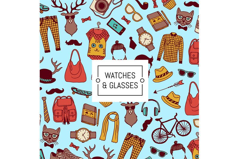 vector-hipster-doodle-icons-background-with-place-for-text-illustratio