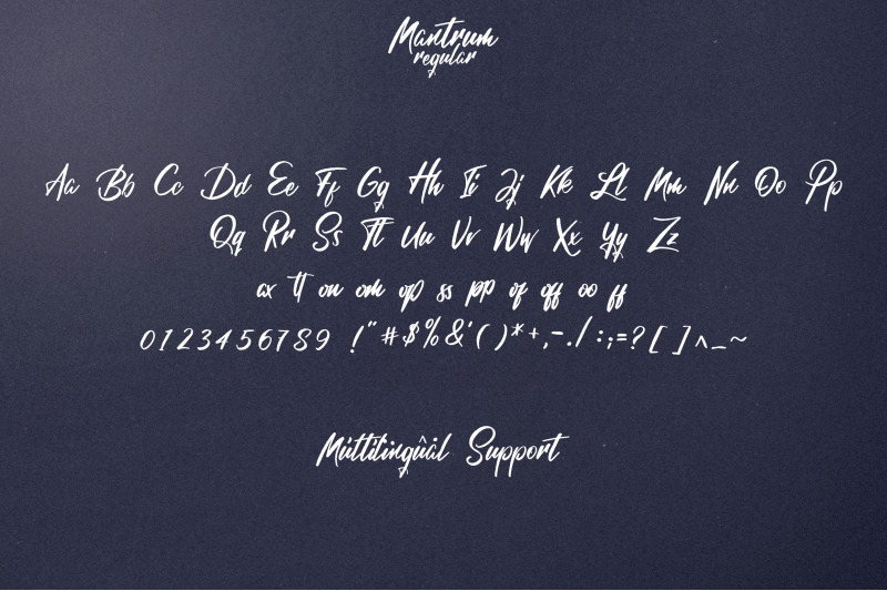 mantrum-urban-script-3-styles