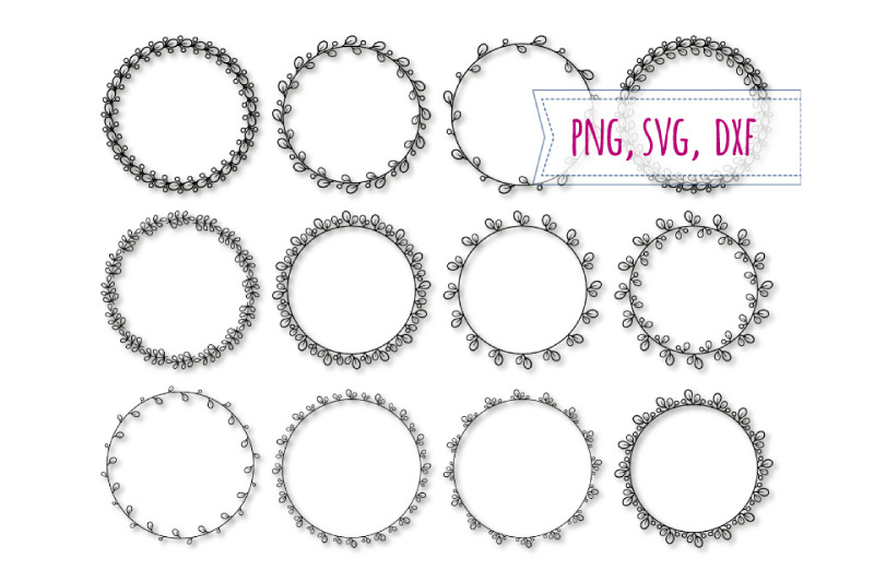 Floral Wreath Png