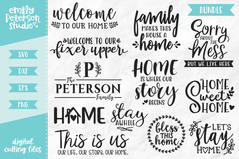 home-bundle-svg-dxf-12-designs