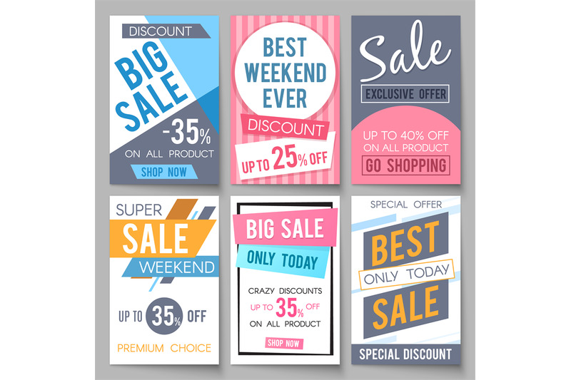 sale-posters-vector-template-with-discount-and-save-money-offers-for-e