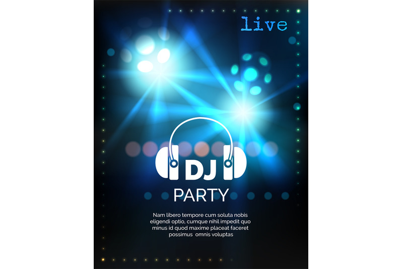 vector-dj-party-poster-template