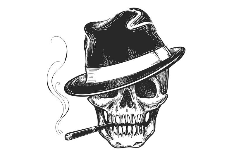 gangster-skull-tattoo