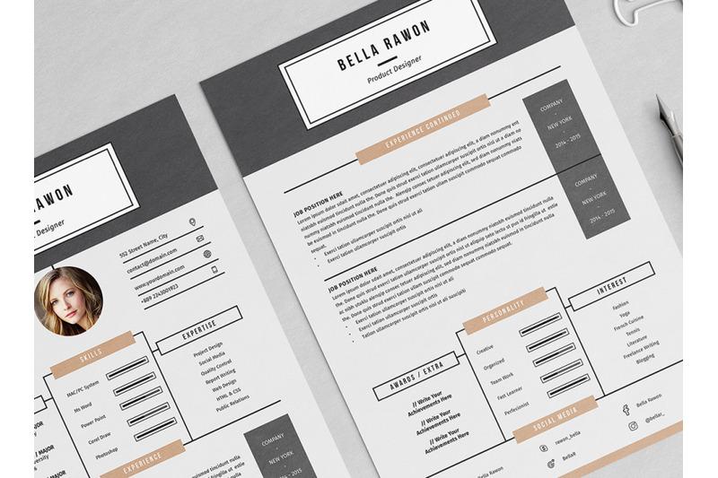 bella-resume-template