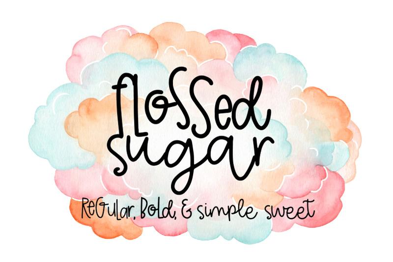 flossed-sugar