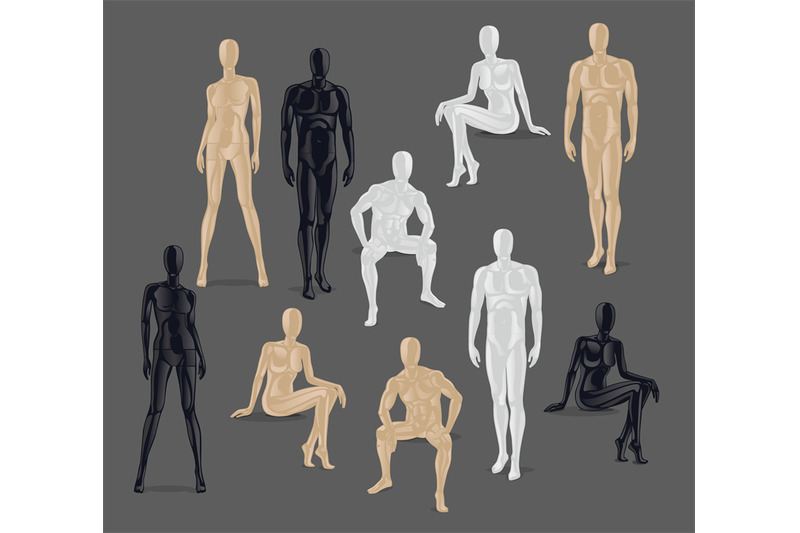 vector-isolated-mannequins