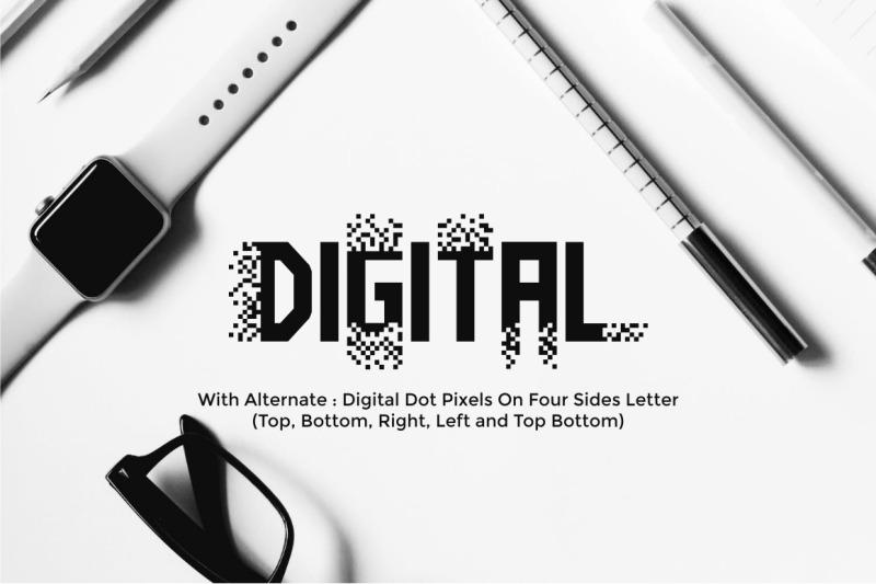 pixel-bit-typeface