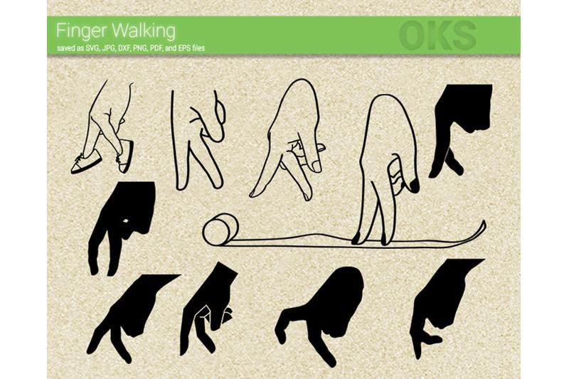 finger-walking-svg-svg-files-vector-clipart-cricut-download