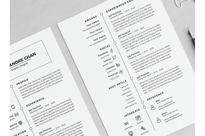 arie-resume-template