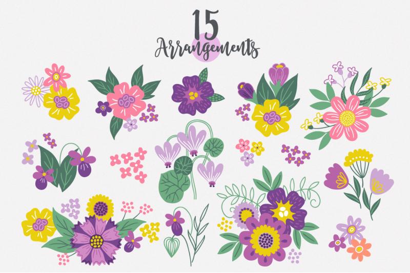 spring-flowers-kit