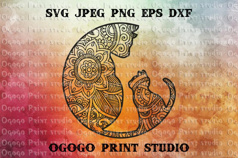 cat-svg-mandala-svg-zentangle-svg-kitten-svg-cricut-file