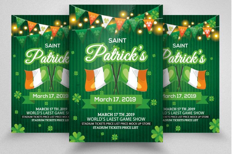 4-saint-patrick-flyers-bundle