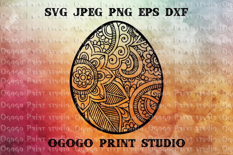 egg-svg-zentangle-svg-easter-svg-mandala-svg-cricut-file