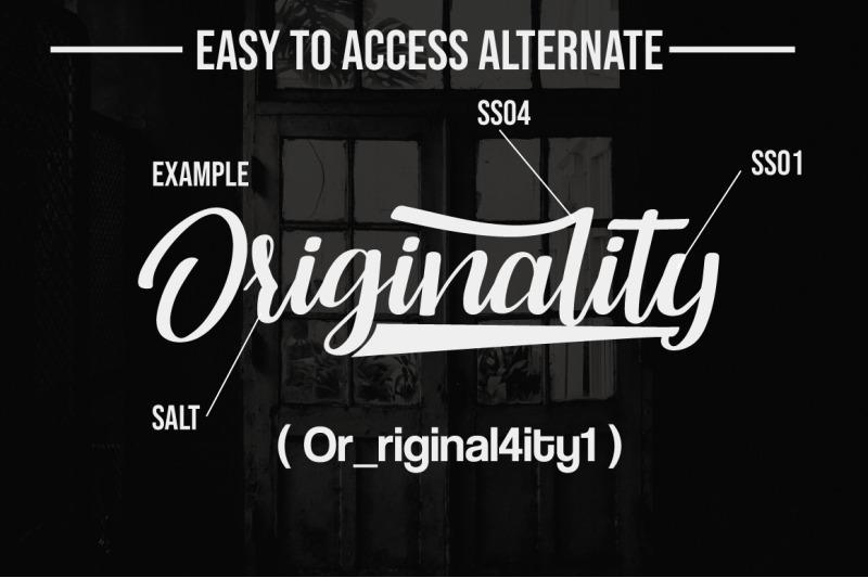 originality-script-font