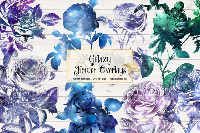 galaxy-flower-overlays
