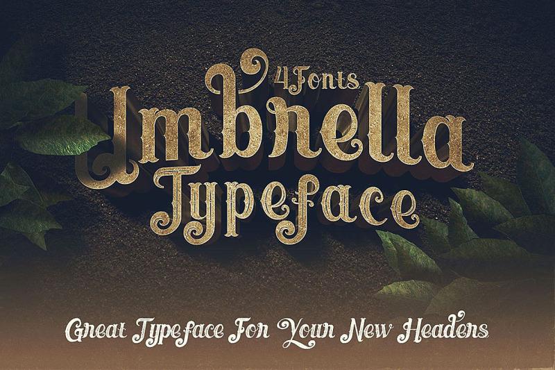 umbrella-4-display-fonts