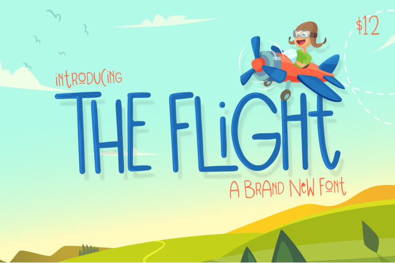 the-flight-font