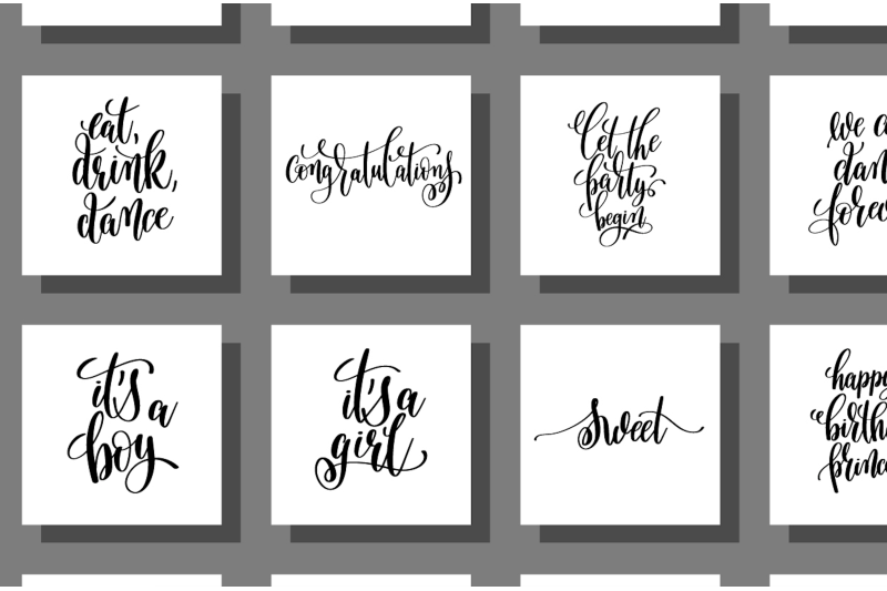 set-of-100-lettering-posters