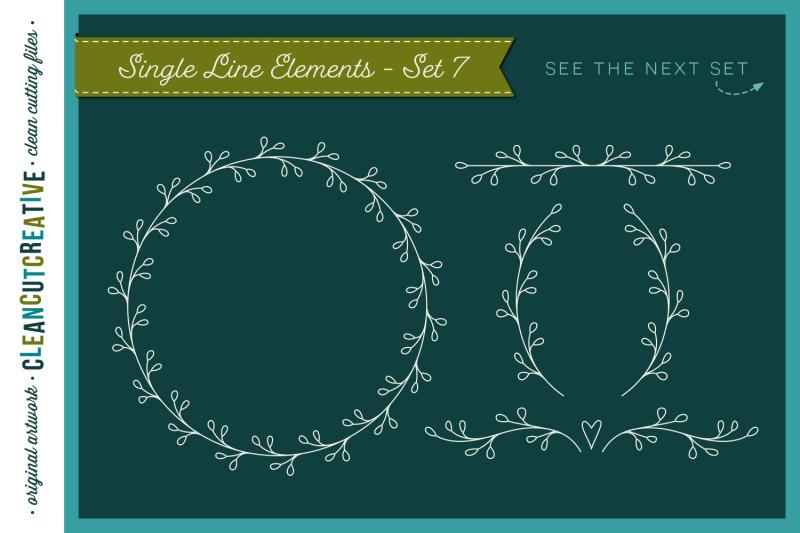 single-line-foil-quill-sketch-engrave-svg-design-file-bundle