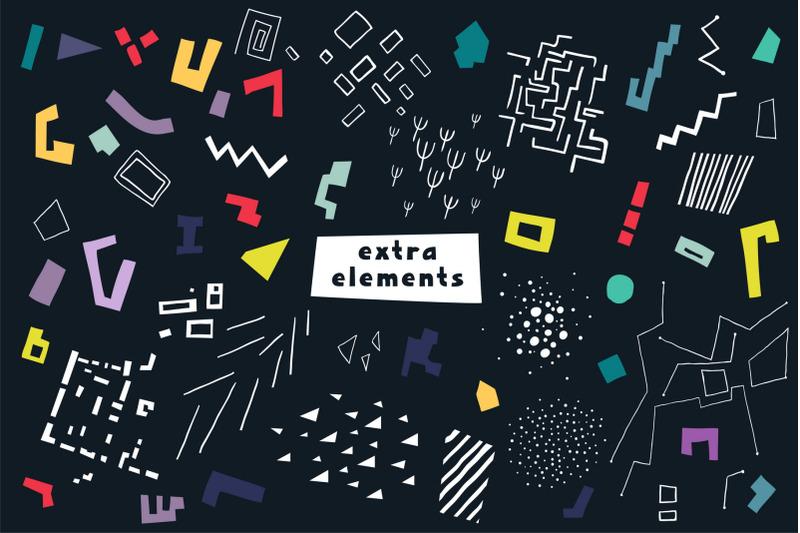 urban-puzzle-patterns-amp-alphabet