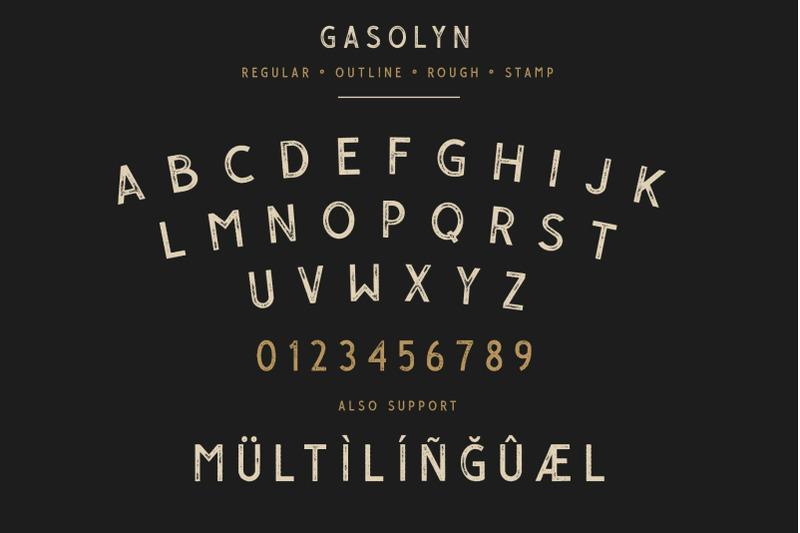 gasolyn-font-family-extras