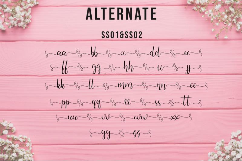 silhouette-lovely-script-font