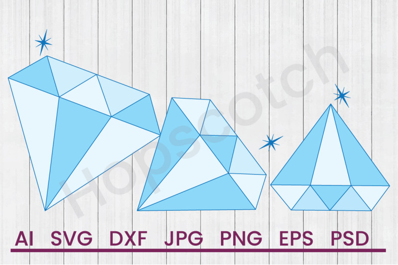 diamonds-svg-file-dxf-file