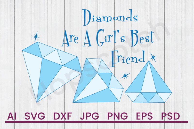 girls-best-friend-svg-file-dxf-file