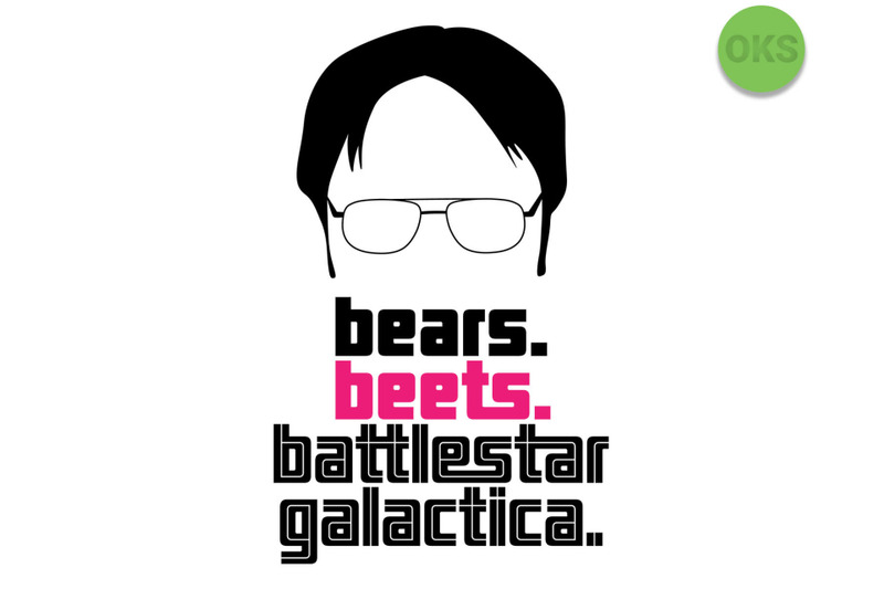 bears-beets-battlestar-galactica-svg-svg-files-vector-clipart-cric