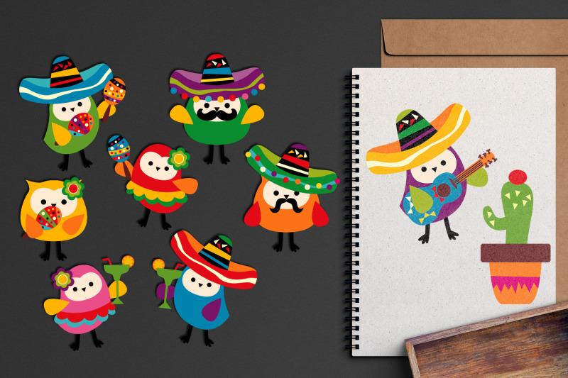 cinco-de-mayo-owls-graphic-illustrations